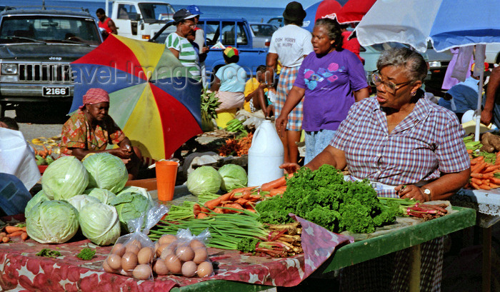 dominica7: Dominica - Roseau / DCG / DOM:  market scene - photo by G.Frysinger - (c) Travel-Images.com - Stock Photography agency - Image Bank