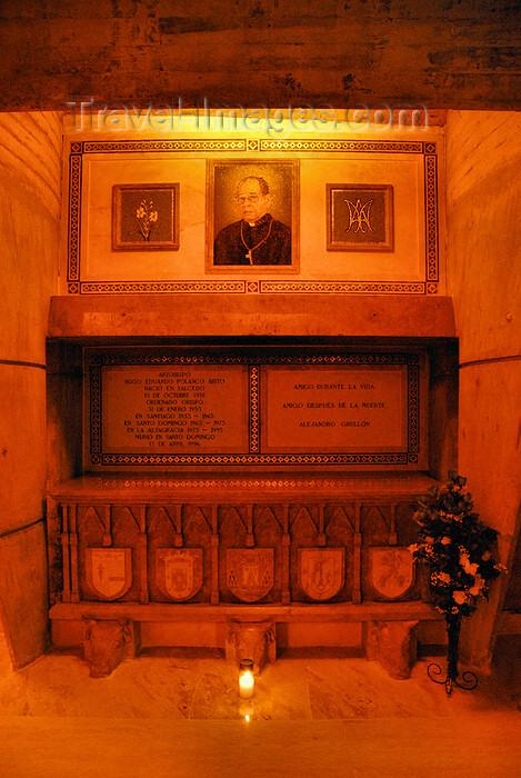 dominican113: Higüey, Dominican Republic: tomb of Archbishop Hugo Polanco Britol - Basilica of Our Lady - Basilica de Nuestra Señora de la Altagracia - photo by M.Torres - (c) Travel-Images.com - Stock Photography agency - Image Bank