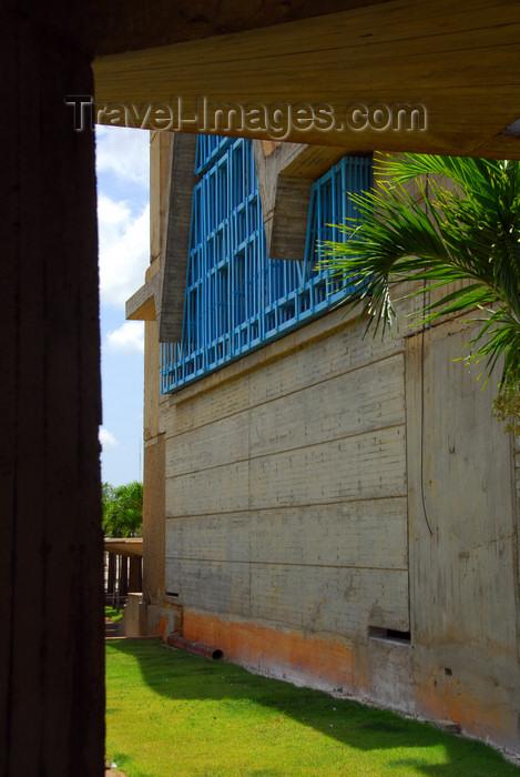 dominican114: Higüey, Dominican Republic: architectural detail of the Basilica of Our Lady - Basilica de Nuestra Señora de la Altagracia - photo by M.Torres - (c) Travel-Images.com - Stock Photography agency - Image Bank