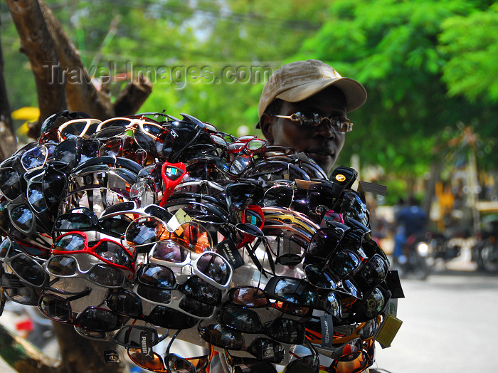 dominican132: Higüey, Dominican Republic: sun glasses for sale - photo by M.Torres - (c) Travel-Images.com - Stock Photography agency - Image Bank