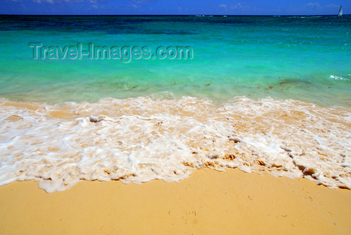 dominican157: Punta Cana, Dominican Republic: the almost Caribbean waters of the North Atlantic Ocean - Arena Gorda Beach - photo by M.Torres - (c) Travel-Images.com - Stock Photography agency - Image Bank