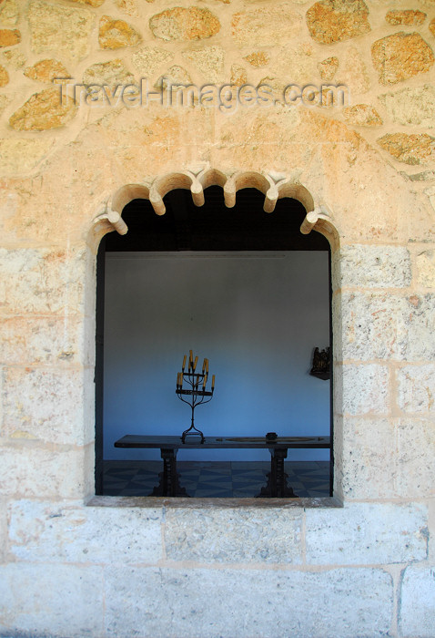 dominican20: Santo Domingo, Dominican Republic: Alcazar de Colon - Mudejar window - Ciudad Colonial - Unesco World Heritage - photo by M.Torres - (c) Travel-Images.com - Stock Photography agency - Image Bank