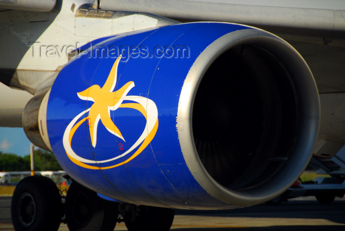 dominican216: Punta Cana, Dominican Republic: Iberworld Airbus A330-322 EC-IJH - PW4168 Pratt & Whitney aircraft engine - Punta Cana International Airport - PUJ / MDPC - photo by M.Torres - (c) Travel-Images.com - Stock Photography agency - Image Bank