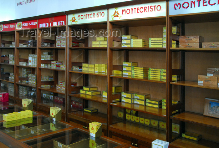 dominican224: La Romana, Dominican Republic: cigar emporium - Montecristo, Romeo y Julieta... - photo by M.Torres - (c) Travel-Images.com - Stock Photography agency - Image Bank