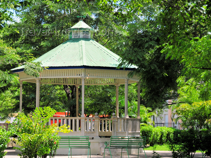 dominican247: Dajabón, Dominican Republic: bandstand at Duarte park - photo by M.Torres - (c) Travel-Images.com - Stock Photography agency - Image Bank