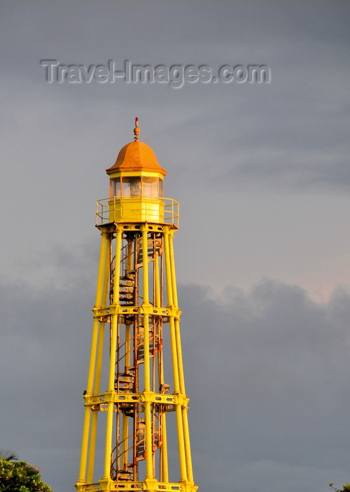 dominican315: Puerto Plata, Dominican republic: the lighthouse - Amber Coast - faro - La Costa de Ambar - photo by M.Torres - (c) Travel-Images.com - Stock Photography agency - Image Bank