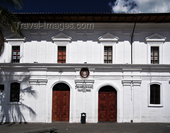 ecuador108: Quito, Ecuador: Friar Pedro Bedón Dominican Art Museum - houses a collection of 16th, 17th and 18th centuries religious art - Museo Dominicano de Arte - Plaza Santo Domingo - photo by M.Torres - (c) Travel-Images.com - Stock Photography agency - Image Bank
