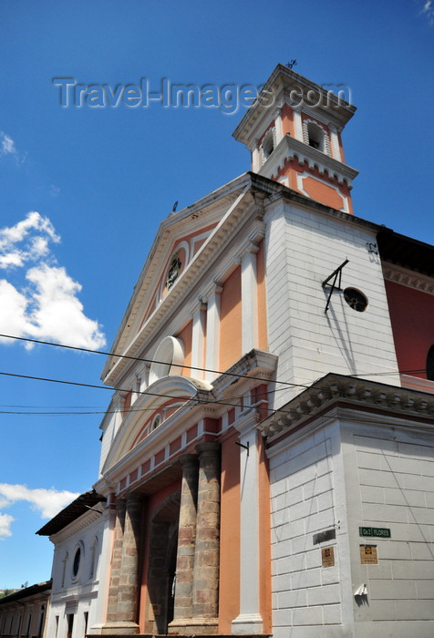ecuador137: Quito, Ecuador: St Catherine church - Calle Flores corner Eugenio Espejo - Iglesia de Santa Catalina - photo by M.Torres - (c) Travel-Images.com - Stock Photography agency - Image Bank