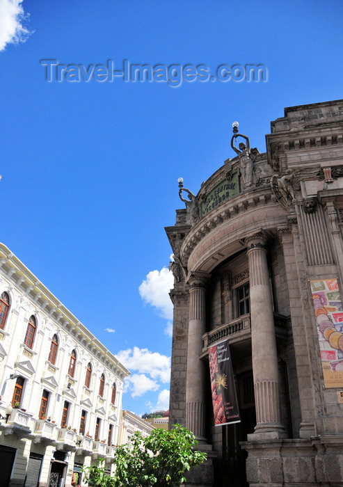 ecuador154: Quito, Ecuador: Numismatic Museum of the Central Bank - architect Francesco Durini - Casa Museo Maria Augusta Urrutia - corner of  Calle Ant&#243;nio Jos&#233; Sucre and Calle Gabriel Garcia Moreno - Museo Numismatico del Banco Central - photo by M.Torres - (c) Travel-Images.com - Stock Photography agency - Image Bank
