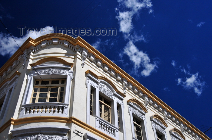 ecuador159: Quito, Ecuador: corner of Calles Venezuela and António José Sucre, former Calle del Algodon - Almacenes Brín - Centro Histórico - photo by M.Torres - (c) Travel-Images.com - Stock Photography agency - Image Bank