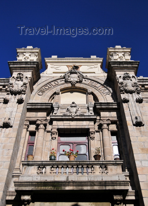 ecuador167: Quito, Ecuador: Circulo Militar - Military Club - Calle Venezuela, corner with Calle  Mejía - architect Francesco Durini - photo by M.Torres - (c) Travel-Images.com - Stock Photography agency - Image Bank