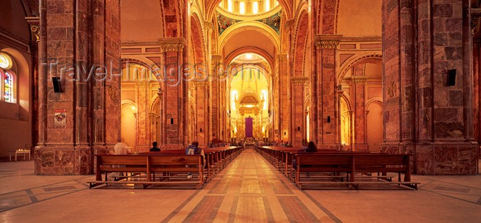 ecuador3: Ecuador: Cuenca, Azuay province: Cathedral interior - Historic Centre of Santa Ana de los Ríos de Cuenca - UNESCO World Heritage Site - photo by W.Allgower - (c) Travel-Images.com - Stock Photography agency - Image Bank