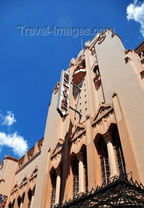 ecuador47: Quito, Ecuador: Bolivar theater, designed by Paul Hennon, built in 1933 - Moorish architecture on Calle Eugenio Espejo - Teatro Bolivar - photo by M.Torres - (c) Travel-Images.com - Stock Photography agency - Image Bank