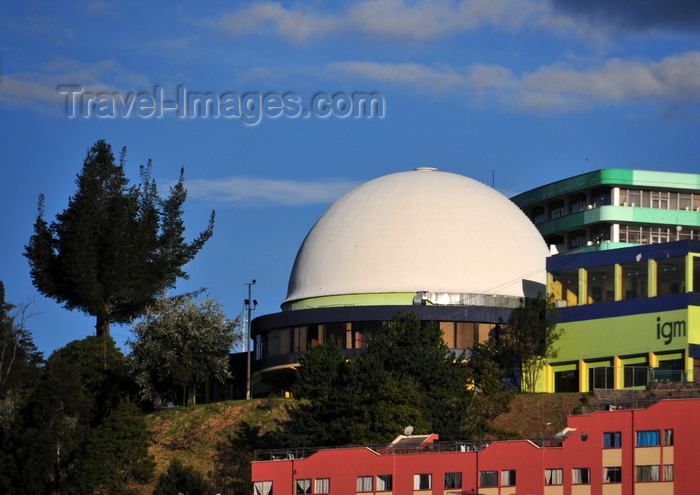 ecuador58: Quito, Ecuador: Planetarium of the Military Geographic Institute - Planetario Universal del Centro Cultural del IGM (Instituto Geográfico Militar) - photo by M.Torres - (c) Travel-Images.com - Stock Photography agency - Image Bank