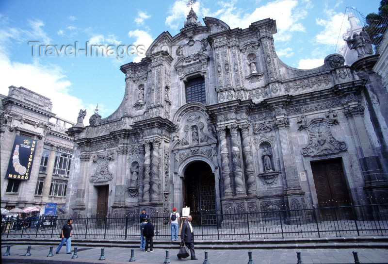ecuador8: Ecuador - Quito: La Compañia de Jesus - religion - Christianity (photo by Rod Eime) - (c) Travel-Images.com - Stock Photography agency - Image Bank