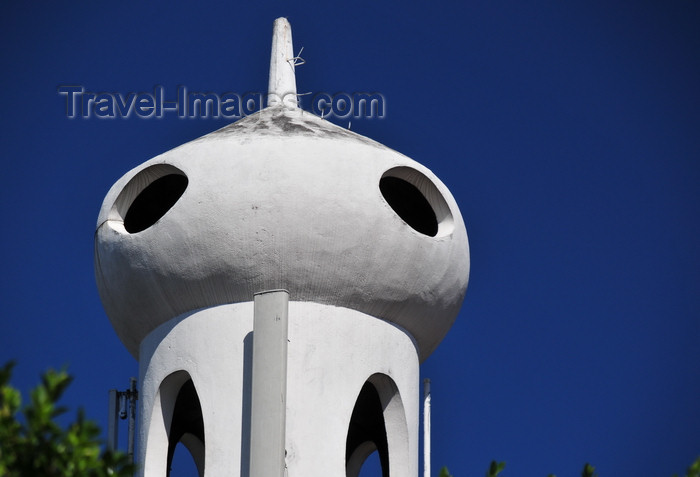 el-salvador4: San Salvador, El Salvador, Central America: church of Our Lady of Perpetual Succour - onion belfry - Iglesia del Perpetuo Socorro - 17a Av Sur - photo by M.Torres - (c) Travel-Images.com - Stock Photography agency - Image Bank