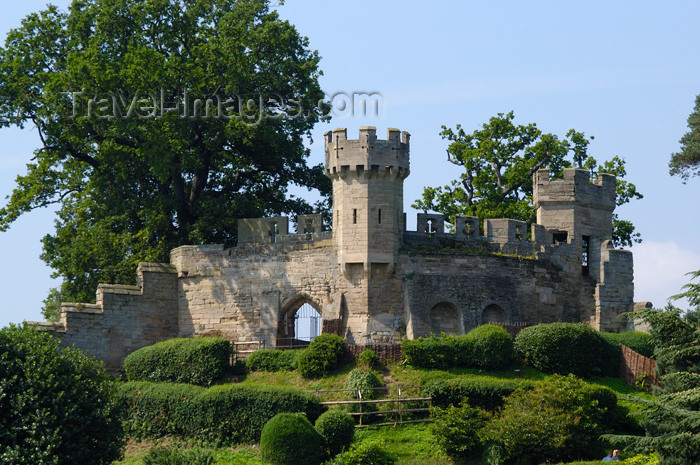 england104: Warwick, Warwickshire, West Midlands, England: castle -  protected as a Scheduled Ancient Monument - photo by F.Hoskin - (c) Travel-Images.com - Stock Photography agency - Image Bank