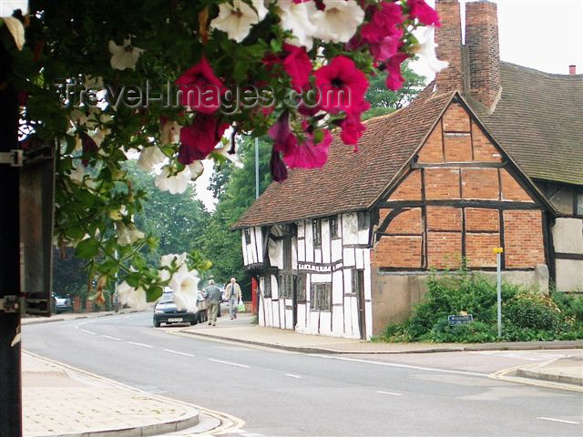england106: England (UK) - Stratford-upon-Avon (Warwick county): architecture - photo by F.Hoskin - (c) Travel-Images.com - Stock Photography agency - Image Bank