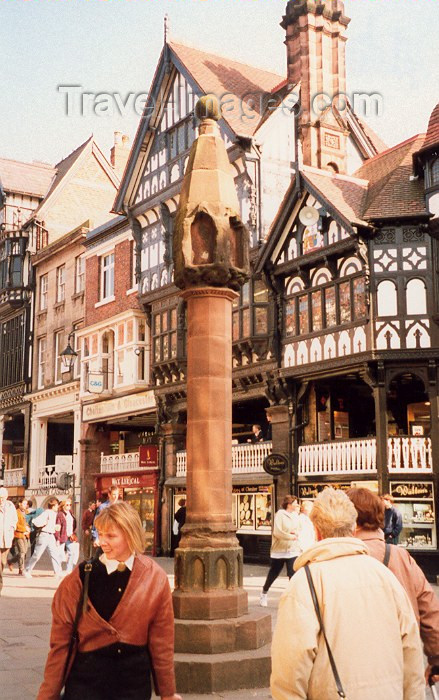 england114: Chester, Cheshire, North West England, UK: pillory - photo by M.Torres - (c) Travel-Images.com - Stock Photography agency - Image Bank