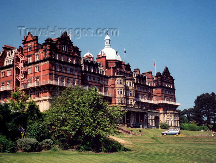 england14: Harrowgate, North Yorkshire, England: the Majestic Hotel - photo by M.Torres - (c) Travel-Images.com - Stock Photography agency - Image Bank