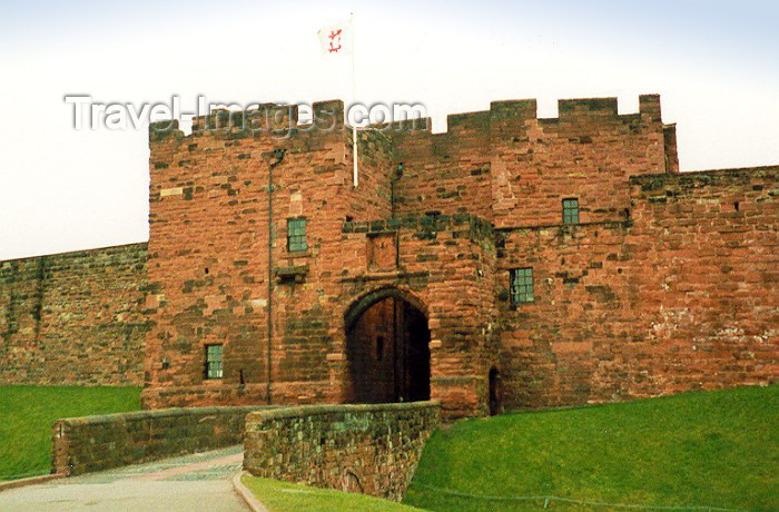 england15: England (UK) - Carlisle / CAX (Cumbria): castle (photo by Miguel Torres) - (c) Travel-Images.com - Stock Photography agency - Image Bank