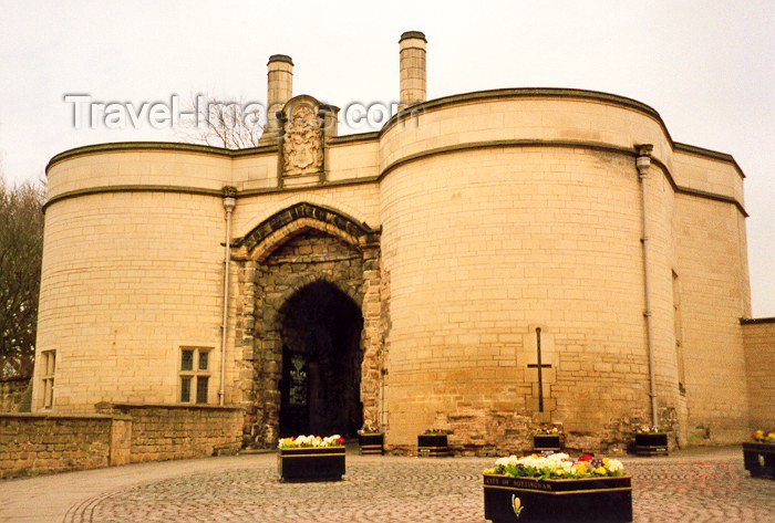 england18: Nottingham - Nottinghamshire, England (UK): castle gate - photo by M.Torres - (c) Travel-Images.com - Stock Photography agency - Image Bank