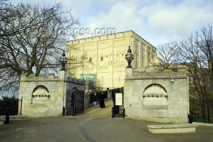 england187: Norwich, Norfolk county, England: Norwich Castle, built by the Normans as a Royal Palace 900 years ago - photo by F.Hoskin - (c) Travel-Images.com - Stock Photography agency - Image Bank