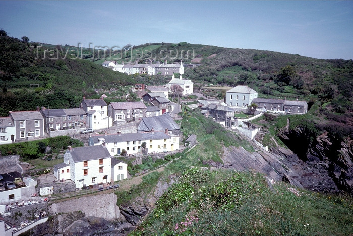 england190: England - Portloe - Cornwall: on the slope (photo by R.Eime) - (c) Travel-Images.com - Stock Photography agency - Image Bank