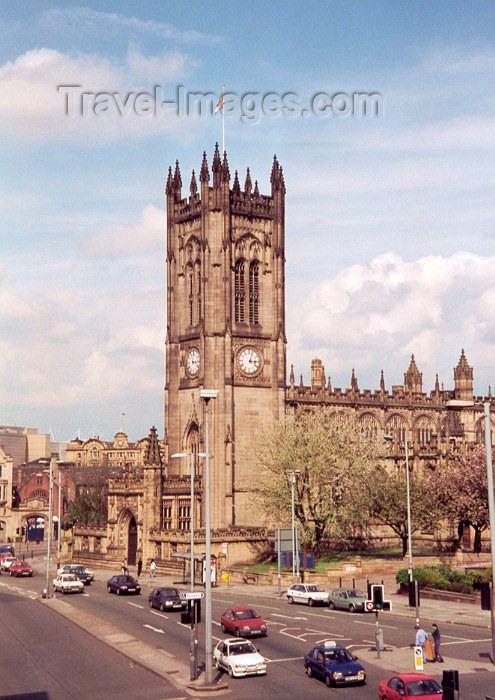 england2: Manchester, North West, England: Anglican Cathedral - Cathedral and Collegiate Church of St Mary, St Denys and St George in Manchester - photo by M.Torres - (c) Travel-Images.com - Stock Photography agency - Image Bank
