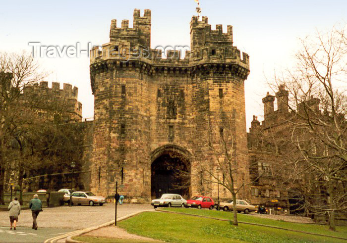 england20: Lancaster, Lancashire, North West England, UK: H.M. Jail - Lancaster Castle Prison - Category C Training prison - photo by M.Torres - (c) Travel-Images.com - Stock Photography agency - Image Bank