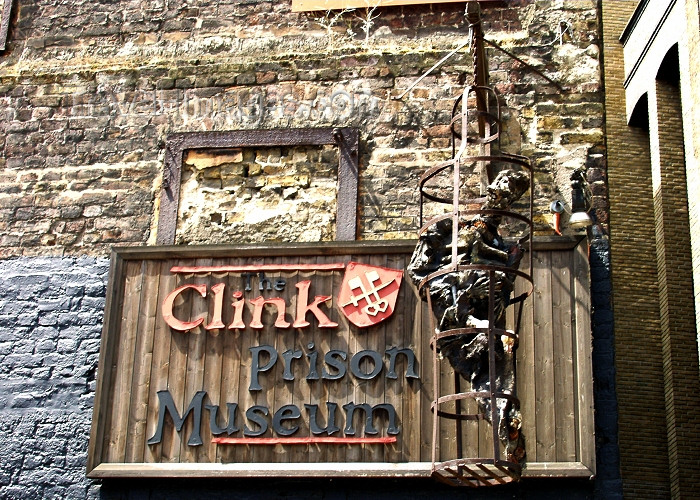 england227: London: the Clink prison museum - body rotting - notorious former prison in Southwark - photo by K.White - (c) Travel-Images.com - Stock Photography agency - Image Bank