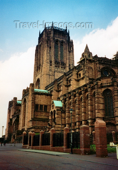england235: Liverpool, Merseyside, North West England, UK: Liverpool Anglican Cathedral - St. James' Mount - designed by Sir Giles Gilbert Scott - photo by M.Torres - (c) Travel-Images.com - Stock Photography agency - Image Bank