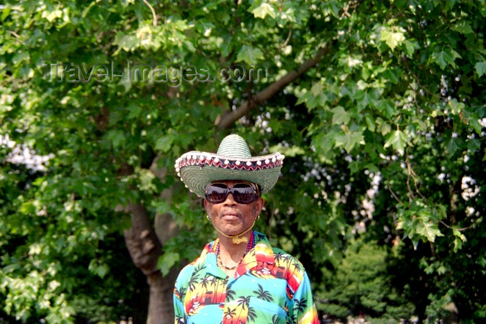 england238: London: Mexican at Speakers Corner - Hyde Park - photo by M.Bergsma - (c) Travel-Images.com - Stock Photography agency - Image Bank