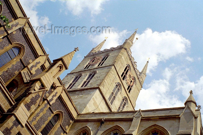 england256: London: Southwark Cathedral - Cathedral and Collegiate Church of St Saviour and St Mary Overie - photo by M.Bergsma - (c) Travel-Images.com - Stock Photography agency - Image Bank