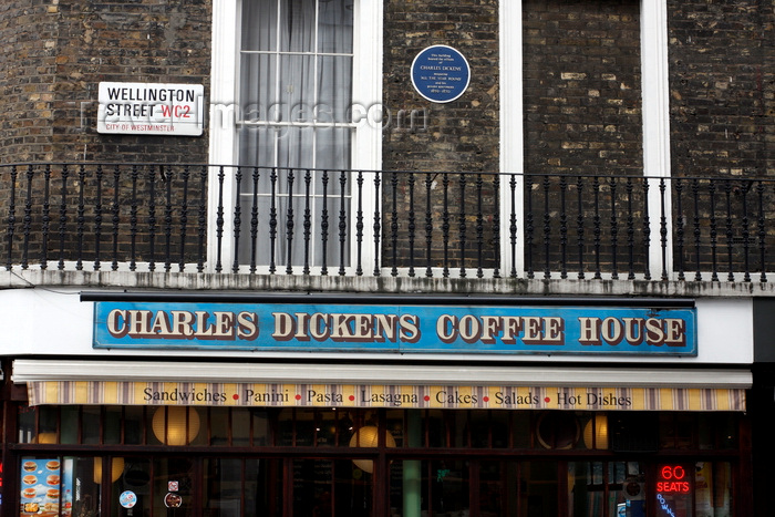 england264: London, England: Charles Dickens Coffee House - photo by A.Bartel - (c) Travel-Images.com - Stock Photography agency - Image Bank