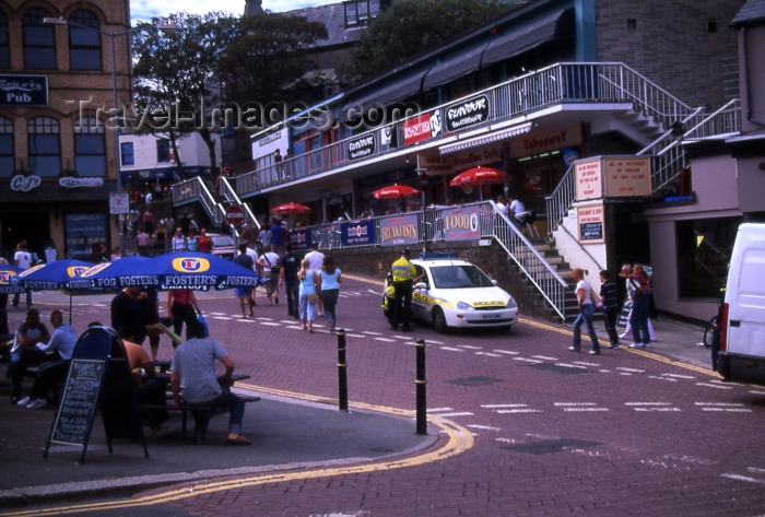 england295: England - Newquay - Cornwall: shops (photo by T.Brown) - (c) Travel-Images.com - Stock Photography agency - Image Bank