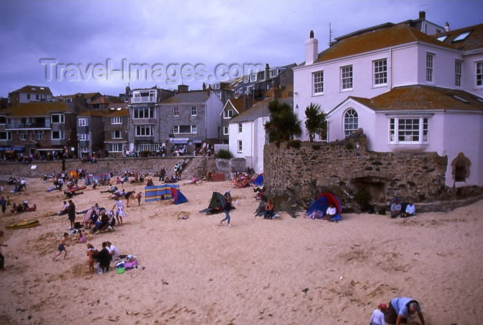 england296: England - St Ives - Cornwall: beach (photo by T.Brown) - (c) Travel-Images.com - Stock Photography agency - Image Bank