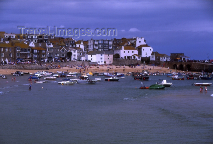 england297: England - St Ives - Cornwall: small boats (photo by T.Brown) - (c) Travel-Images.com - Stock Photography agency - Image Bank