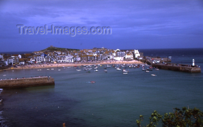england299: England - St Ives - Cornwall: the bay (photo by T.Brown) - (c) Travel-Images.com - Stock Photography agency - Image Bank