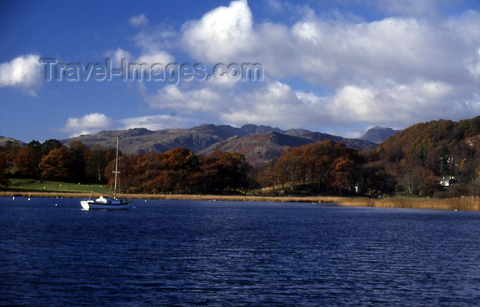 england310: England (UK) - Windermere lake - Lake District (photo by T.Brown) - (c) Travel-Images.com - Stock Photography agency - Image Bank