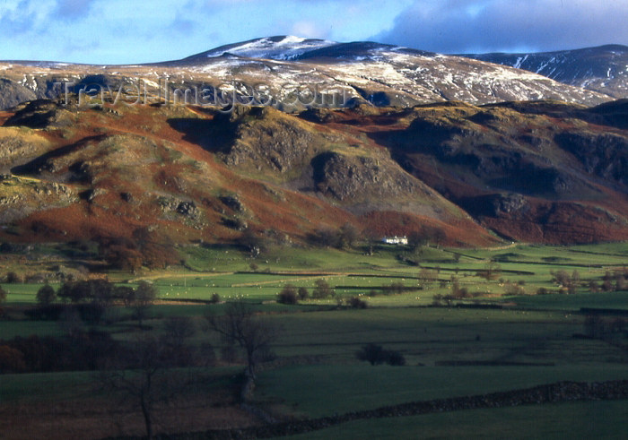 england311: England (UK) - Helvellyn mountain - Lake District - Cumbria (photo by T.Brown) - (c) Travel-Images.com - Stock Photography agency - Image Bank
