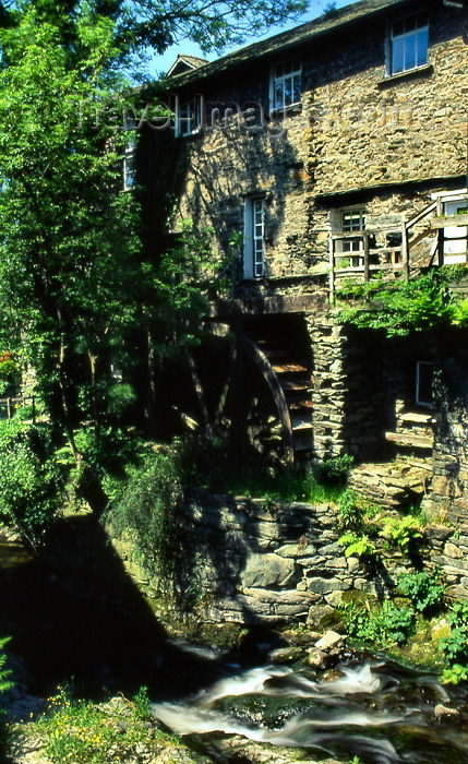 england313: England (UK) - Ambleside - Lake District: water mill (photo by T.Brown) - (c) Travel-Images.com - Stock Photography agency - Image Bank