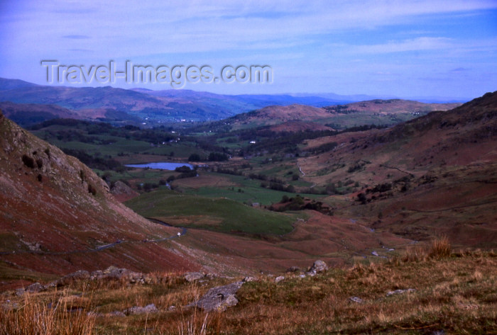 england329: England (UK) - Wynrose pass - Lake District (photo by T.Brown) - (c) Travel-Images.com - Stock Photography agency - Image Bank