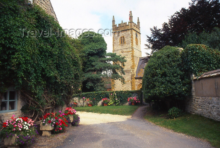england337: England (UK) - Halford (Warwickshire): church tower - Cotswolds - photo by T.Brown - (c) Travel-Images.com - Stock Photography agency - Image Bank