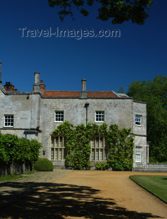 england352: Romsey, Hampshire, South East England, UK: Mottisfont Abbey - south wing - photo by T.Marshall - (c) Travel-Images.com - Stock Photography agency - Image Bank