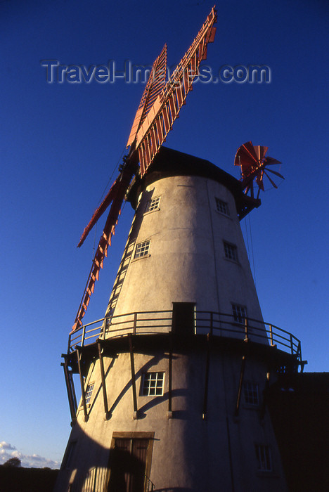 england356: Thornton-Cleveleys - Lancashire, North West England, UK: Marsh Mill, the only working windmill in the Fylde plain - photo by T.Brown - (c) Travel-Images.com - Stock Photography agency - Image Bank
