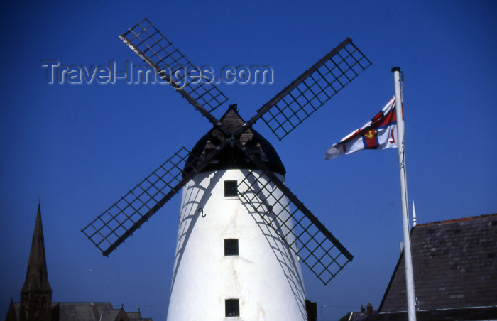 england357: Lytham - Lancashire, England, UK: windmill - houses an exhibition of the history of the Mill and of Bread-making - photo by T.Brown - (c) Travel-Images.com - Stock Photography agency - Image Bank