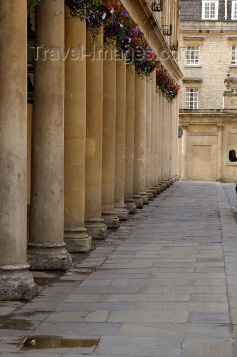 england372: England - Bath (Somerset county - Avon): Roman style columns - photo by C. McEachern - (c) Travel-Images.com - Stock Photography agency - Image Bank