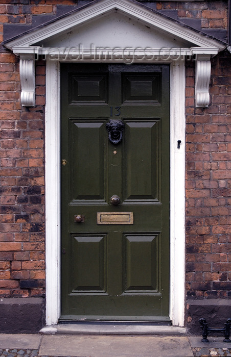 england390: Chester (Cheshire): doorway - photo by C.McEachern - (c) Travel-Images.com - Stock Photography agency - Image Bank