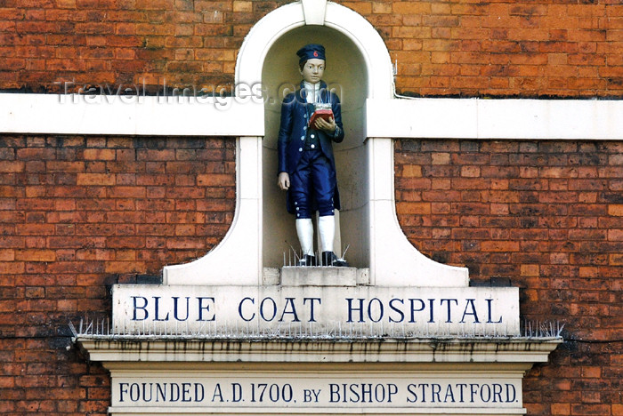 england393: Chester (Cheshire): Chester Blue Coat Hospital - photo by C.McEachern - (c) Travel-Images.com - Stock Photography agency - Image Bank